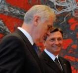 Predsednici Srbije i Slovenije u Ekonomskom institutu