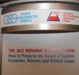 Ekonomski institut na Kopaonik biznis forumu